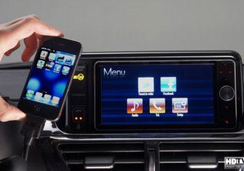 Перенос картинки с Iphone/Android на штатный монитор автомобиля